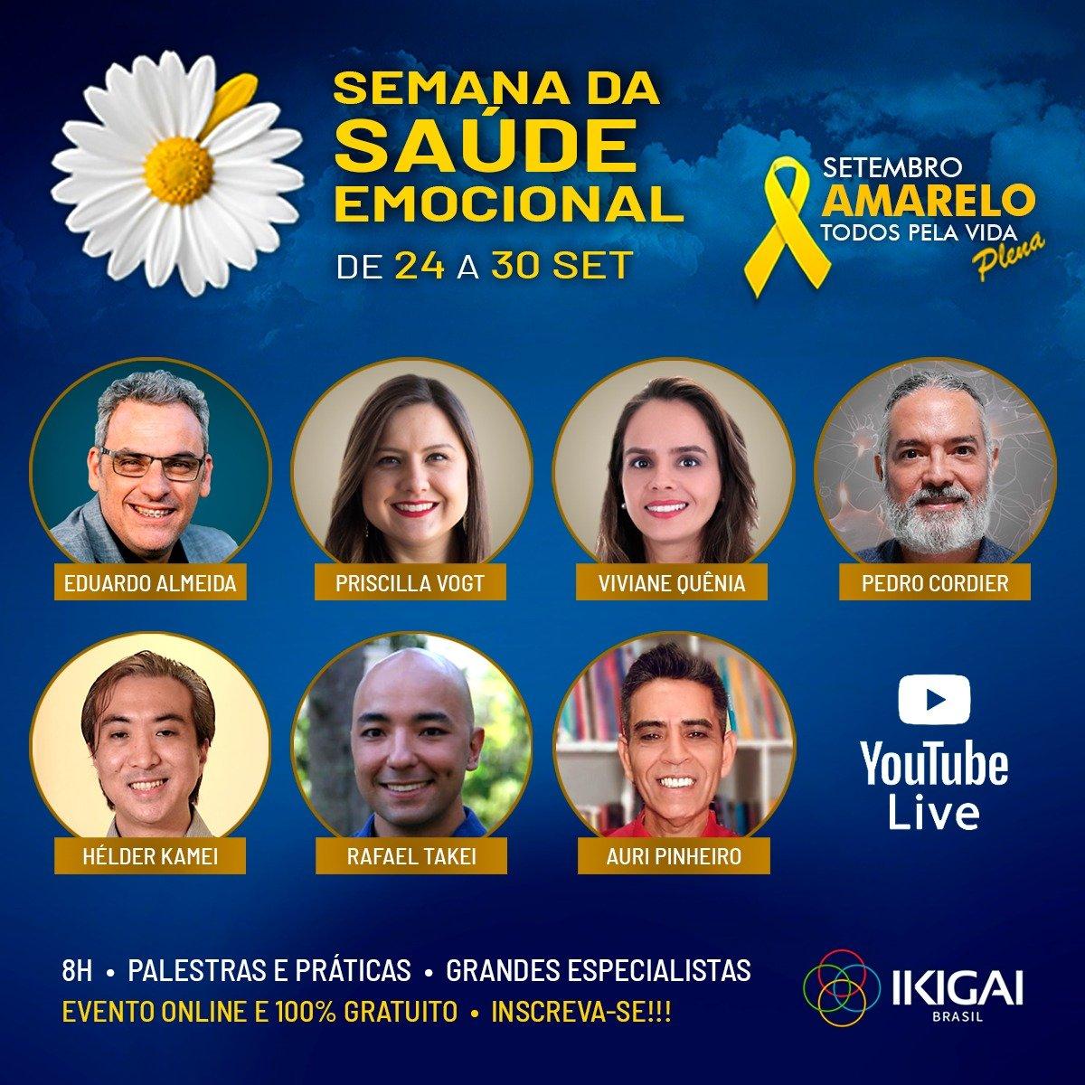 IKIGAI | Participe da Semana da Saúde Emocional