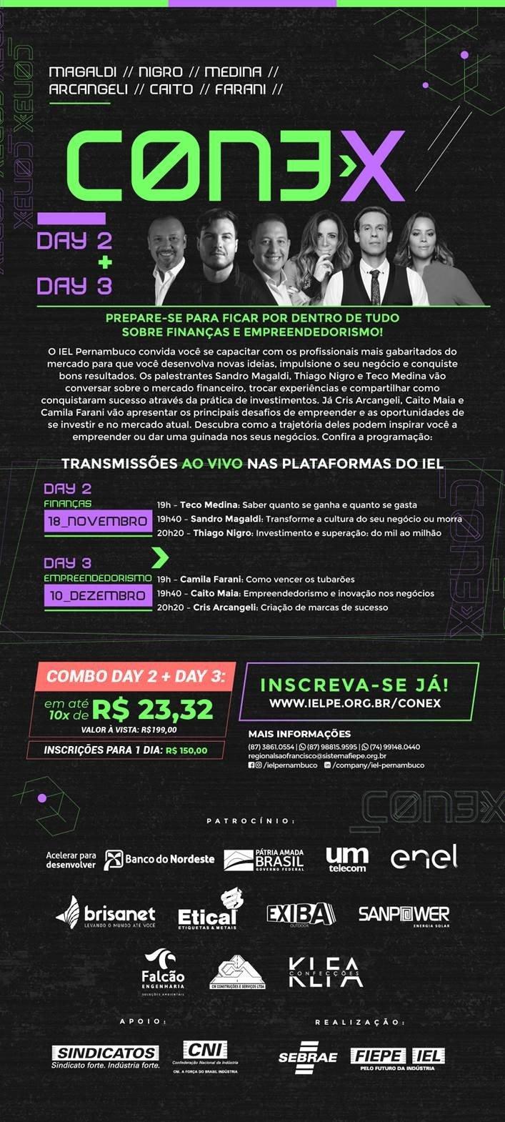 IEL Petrolina | CON3X 2020