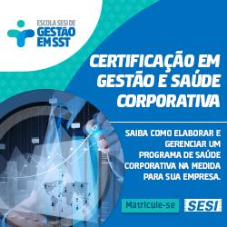 SESI | Certificação em Gestão e Saúde Corporativa
