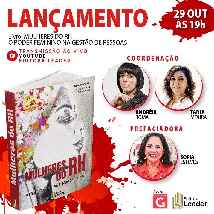 Editora Leader | Lançamento Mulheres do RH